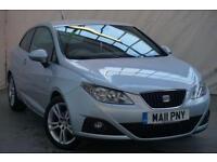 2011 SEAT Ibiza 1.4 CHILL 3d 85 BHP Petrol silver Manual