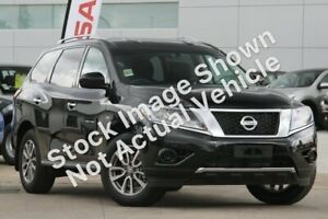 2013 Nissan Pathfinder R52 MY14 ST X-tronic 2WD Black 1 Speed Constant Variable Wagon Rockingham Rockingham Area Preview