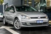 2014 Volkswagen Golf VII MY14 110TDI DSG Highline Silver 6 Speed Sports Automatic Dual Clutch Victoria Park Victoria Park Area Preview