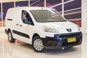 2009 Peugeot Partner B9P L2 Low Roof MWB White 5 Speed Manual Van Blacktown Blacktown Area Preview