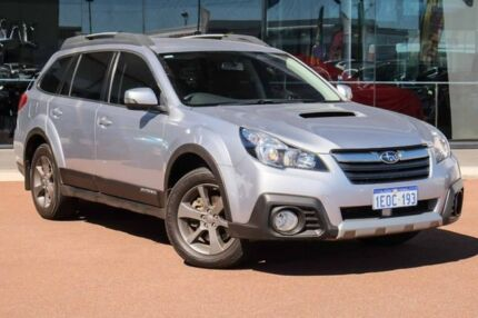 2014 Subaru Outback B6A MY15 2.0D CVT AWD Silver 7 Speed Constant Variable Wagon