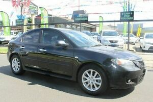 2008 Mazda 3 BK10F2 MY08 Maxx Sport Black 4 Speed Sports Automatic Sedan West Footscray Maribyrnong Area Preview