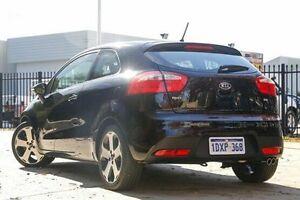 2012 Kia Rio UB MY13 SLS Black 6 Speed Sports Automatic Hatchback Glendalough Stirling Area Preview