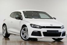 2014 Volkswagen Scirocco 1S MY15 R Coupe DSG White 6 Speed Sports Automatic Dual Clutch Hatchback Adelaide CBD Adelaide City Preview