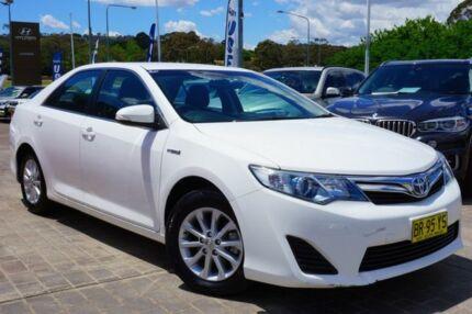 2012 Toyota Camry AVV50R Hybrid H White 1 Speed Constant Variable Sedan Hybrid Pearce Woden Valley Preview