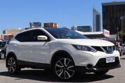2016 Nissan Qashqai J11 TI Pearl White Continuous Variable Wagon Northbridge Perth City Area Preview