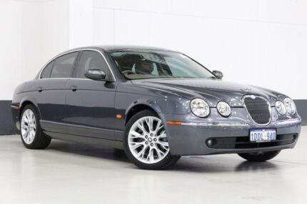 2007 Jaguar S-Type MY06 3.0 Luxury Grey 6 Speed Automatic Sedan Bentley Canning Area Preview