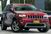 2014 Jeep Grand Cherokee WK MY2014 Limited Red 8 Speed Sports Automatic Wagon West Gosford Gosford Area Preview