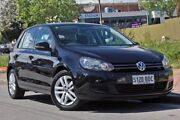 2010 Volkswagen Golf VI MY11 103TDI DSG Comfortline Black 6 Speed Sports Automatic Dual Clutch Glenelg Holdfast Bay Preview