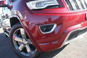 2013 Jeep Grand Cherokee WK MY14 Overland (4x4) Cherry Red 8 Speed Automatic Wagon Waitara Hornsby Area Preview