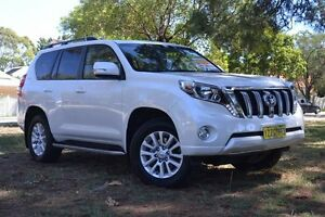 2016 Toyota Landcruiser Prado GDJ150R Kakadu Crystal Pearl 6 Speed Sports Automatic Wagon Claremont Nedlands Area Preview