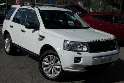 2012 Land Rover Freelander 2 LF MY12 Td4 SE White 6 Speed Sports Automatic Wagon