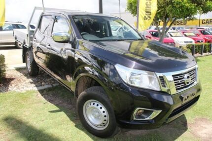 2016 Nissan Navara D23 S2 RX Cosmic Black 7 Speed Sports Automatic Cab Chassis