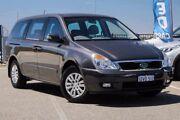 2012 Kia Grand Carnival VQ MY13 S Grey 6 Speed Automatic Wagon Wangara Wanneroo Area Preview