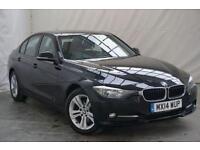 2014 BMW 3 Series 2.0 320D SPORT 4d 184 BHP Diesel black Manual