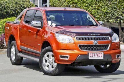 2014 Holden Colorado RG MY15 LTZ Crew Cab Orange 6 Speed Sports Automatic Utility
