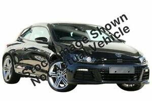 2013 Volkswagen Scirocco 1S MY13.5 R Coupe DSG Black 6 Speed Sports Automatic Dual Clutch Hatchback Victoria Park Victoria Park Area Preview