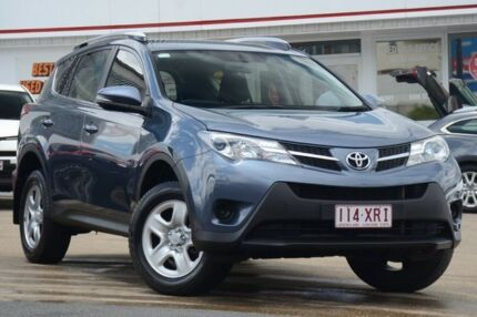 2014 Toyota RAV4 ZSA42R MY14 GX 2WD Cosmic Blue 6 Speed Manual Wagon