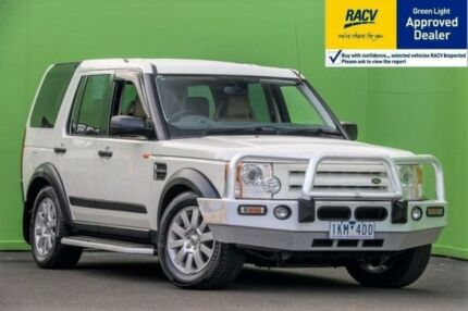 2006 Land Rover Discovery 3 HSE White Sports Automatic Wagon Ringwood East Maroondah Area Preview