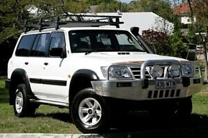 2004 Nissan Patrol GU III MY2003 ST White 4 Speed Automatic Wagon Yeerongpilly Brisbane South West Preview