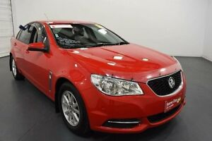 2014 Holden Commodore VF Evoke Red 6 Speed Automatic Sedan Moorabbin Kingston Area Preview