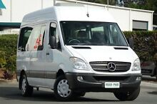2011 Mercedes-Benz Sprinter NCV3 MY11 Transfer Low Roof MWB White 5 Speed Automatic Bus Acacia Ridge Brisbane South West Preview