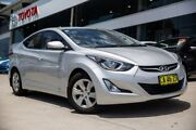 2014 Hyundai Elantra MD3 Active Silver 6 Speed Sports Automatic Sedan Castle Hill The Hills District Preview