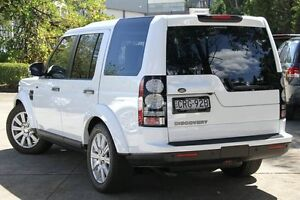 2014 Land Rover Discovery MY14 3.0 TDV6 White 8 Speed Automatic Wagon Petersham Marrickville Area Preview