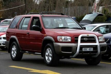 2000 Nissan Pathfinder ST (4x4) Red 4 Speed Automatic 4x4 Wagon Ringwood East Maroondah Area Preview