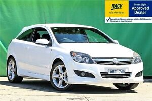 2008 Holden Astra AH SRi White Manual Coupe Ringwood East Maroondah Area Preview