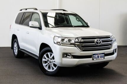 2017 Toyota Landcruiser VDJ200R VX Crystal Pearl 6 Speed Sports Automatic Wagon Myaree Melville Area Preview