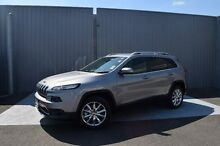 2015 Jeep Cherokee KL MY15 Limited Silver 9 Speed Sports Automatic Wagon Invermay Launceston Area Preview