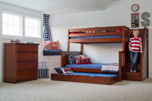 BOXING DAY SALE 15% OFF + NO TAX_ KIDS BUNK & LOFT BEDS Cambridge Kitchener Area image 2