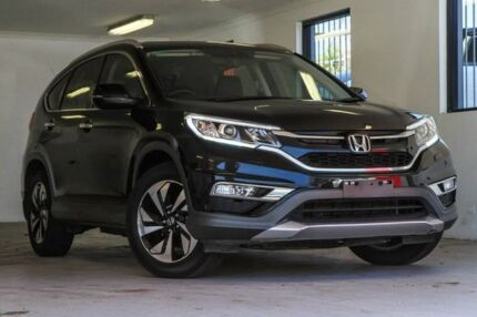 2015 Honda CR-V RM Series II MY16 VTi-S 4WD Black 5 Speed Sports Automatic Wagon Melville Melville Area Preview