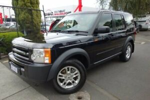 2008 Land Rover Discovery 3 Series 3 08MY S Blue 6 Speed Sports Automatic Wagon Seaford Frankston Area Preview