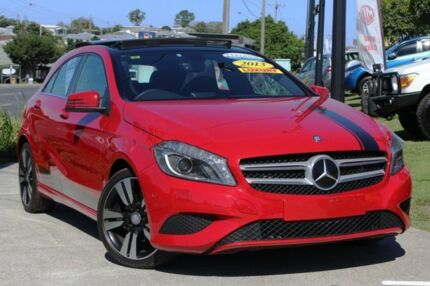 2013 Mercedes-Benz A200 CDI W176 D-CT Red 7 Speed Sports Automatic Dual Clutch Hatchback Kedron Brisbane North East Preview