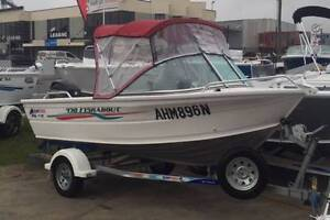 Quintrex 430 Fishabout Windsor Hawkesbury Area Preview