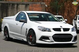 2016 Holden Special Vehicles Maloo GEN-F2 MY16 R8 LSA Heron White 6 Speed Manual Utility West Perth Perth City Area Preview