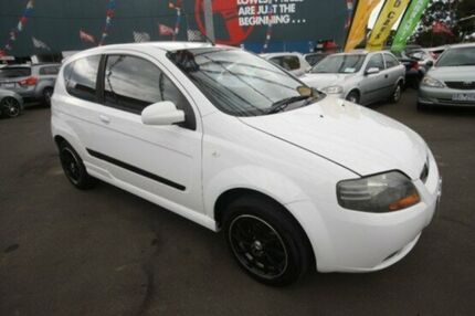 2008 Holden Barina TK MY08 White 4 Speed Automatic Hatchback Kingsville Maribyrnong Area Preview