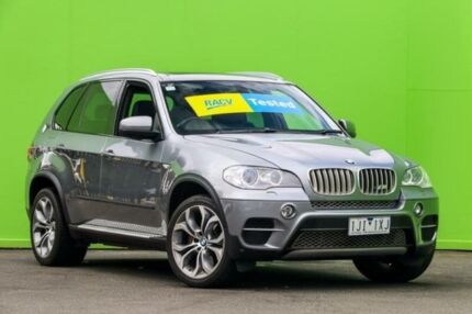 2010 BMW X5 E70 MY11 xDrive50i Steptronic Sport Grey 8 Speed Sports Automatic Wagon Ringwood East Maroondah Area Preview