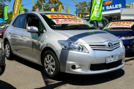 2010 Toyota Corolla ZRE152R MY11 Ascent Silver 4 Speed Automatic Hatchback Ringwood East Maroondah Area Preview