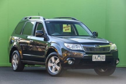 2008 Subaru Forester 79V MY08 XS AWD Luxury Grey 5 Speed Manual Wagon Ringwood East Maroondah Area Preview