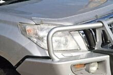 2011 Toyota Landcruiser Prado KDJ155R ZR Silver 5 Speed Sports Automatic Wagon Cannington Canning Area Preview