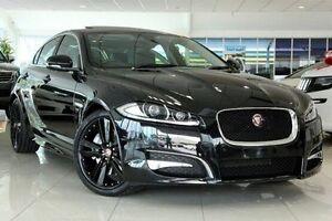 2015 Jaguar XF X250 MY15 Luxury Black 8 Speed Sports Automatic Sedan Dandenong Greater Dandenong Preview