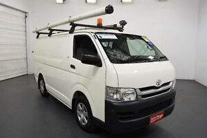 2009 Toyota Hiace TRH201R MY10 LWB White Solid Automatic Van Moorabbin Kingston Area Preview