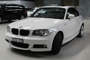 2010 BMW 125I E82 White Automatic Coupe Knoxfield Knox Area Preview
