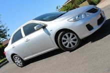 2011 Toyota Corolla ZRE152R MY11 Ascent Silver 4 Speed Automatic Sedan Nailsworth Prospect Area Preview