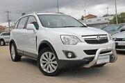 2014 Holden Captiva CG MY13 5 LT (AWD) Summit White 6 Speed Automatic Wagon Victoria Park Victoria Park Area Preview