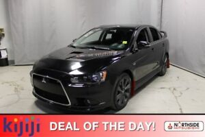 2015 Mitsubishi Lancer AWC RALLIART Heated Seats,  Bluetooth,  A