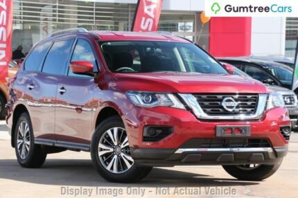 2017 Nissan Pathfinder ST ST Cayenne Red Constant Variable Wagon
